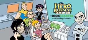 The Hero Business on Kickstarter by BillWalko