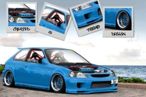 Civic EK9 Special edition by ToshoDesign