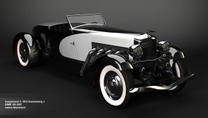 1933 Duesenberg J by Jammurch