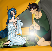 Full Metal Camping Panic by LadyMako