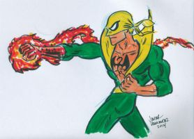 Iron Fist by javierhernandez