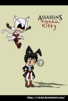 Assassin's kitty by o-Briyi