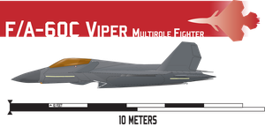 F/A-60C Viper Multirole Fighter by Afterskies