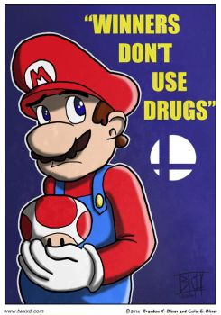 Winners Don't Use Drugs by vic5arch