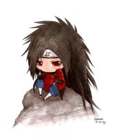 Madara chibi I. colored by Liedeke