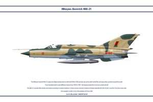 MiG-21 Zambia 1 by WS-Clave