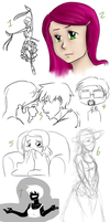 Sketchdump 37 by ratopiangirl