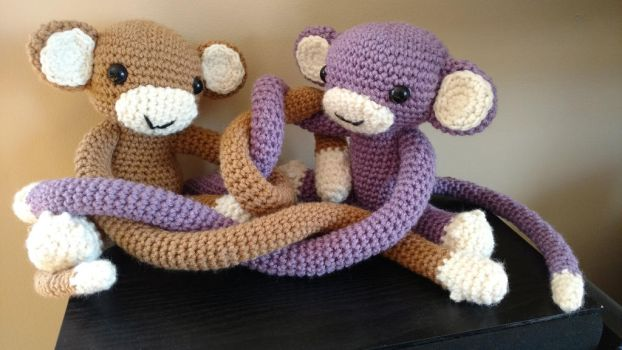Monkeys by Sasophie