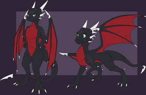 Male Cynder (commission) by Tomek1000