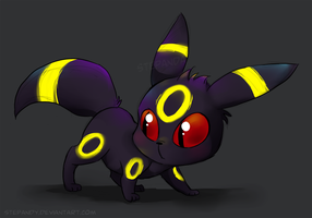Chibi Umbreon by StePandy