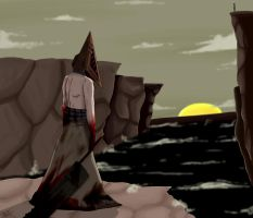 Pyramid Head by TheJesterInTheMoon