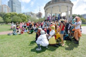 2014 Cosplay Picnic On the Common, Group Photo by Miss-Tbones