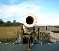 Fort Casey: Cannon VI by Photos-By-Michelle