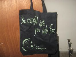 coraline tote bag by PrincessCarol