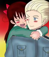 Germany and Me (Chile) :3 by Robinsoldiersaiyan