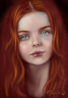 red hair by elGuaricho