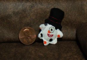 Spotted Mini Plushie With Top Hat by Kyle-Lefort