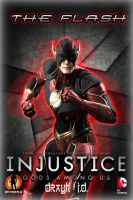 The Flash - Injustice Poster by drayh1985