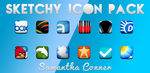Sketchy Icons/Theme by sammyycakess