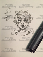 Inktober 2014 #24 - Leslie Withers by Whisski