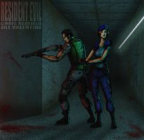 Resident Evil Partners - Chris and Jill by thorup