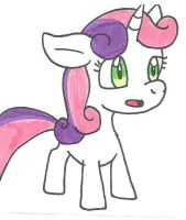 Sweetie Belle by cmara