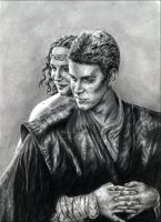 Anakin et Padme - AOTC by leiaskywalker83