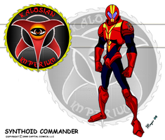 Synthoid Commander by skywarp-2
