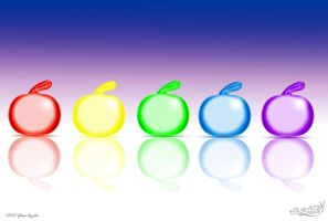 Glass Apples by PaSt1978