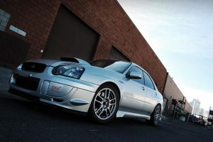 evo on sti 2 by MarkAndrew