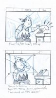 Storyboards-The Critic cont. by HeroGear