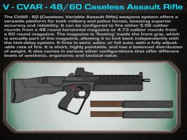 V- CVAR - 48,60  Assault Rifle by OutFoxedTW