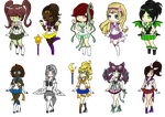 Senshi Adopts (closed) by crazy-peach-adopt
