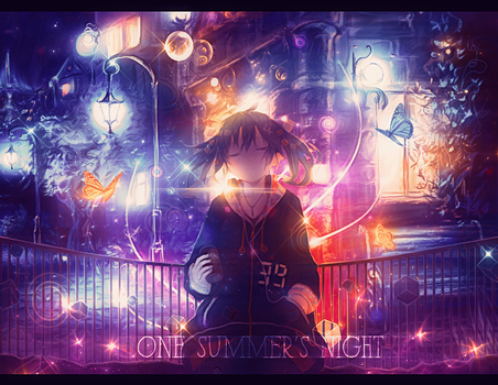 [Signature - Banner] One Summer's Night - Comeback by DaoThiCamTu