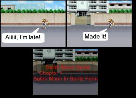 Sailor Moon Sprite - Chapter 1 by Themechashadow