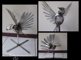 Cutlery swallow 2 by Sovriin