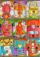 Transformers Sketch Cards 1 by zaymac