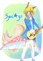 Syuzo strums guiter by Twilox