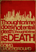 Thoughtcrime Is Death by DesignersJunior