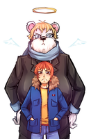 SS: a Bear n' Scott Pilgrim by Yamineftis