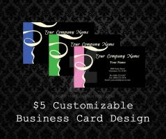 Customizable Business Cards - 03 by PointyHat