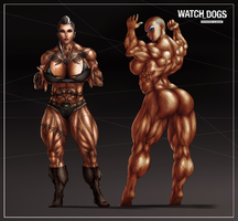 WATCH DOG BABES by B9TRIBECA
