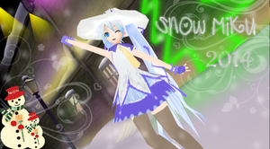 Snow Miku 2014 by bertalh