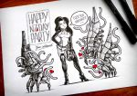 Mass Effect Fanart for N7Day 2015 by GGuerillot