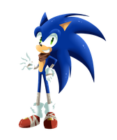Sonic Boom :Without Lines: by SweetSilvy