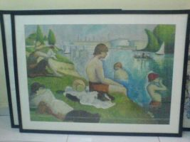 homage to george seurat XP by MadBoxx