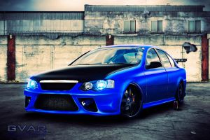 Ford XR6 Brushed by SuperSprayer