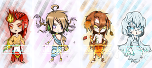 ~Seasons Adoptable Auction~ ::Closed: [Points] by chibi-adopts18