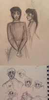 [ Of Wealth and Poverty Sketches 2 ] by Agavny