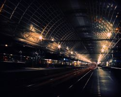 railway station by rusaeval